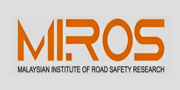 Jawatan Kerja Kosong Institut Penyelidikan Keselamatan Jalan Raya Malaysia (MIROS) logo www.ohjob.info disember 2014