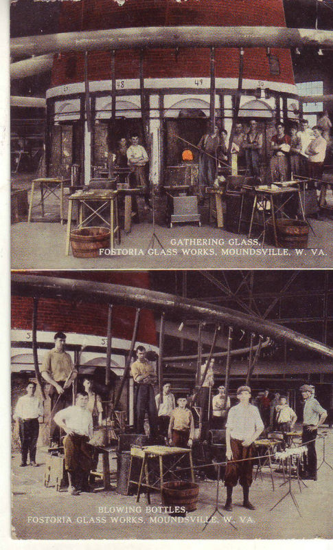 1910 fostoria glass works