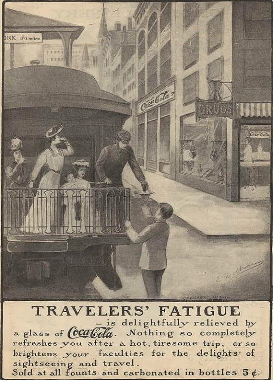 Propaganda antiga da Coca Cola em 1894