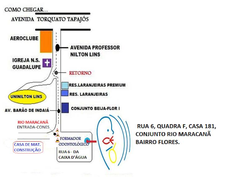 ENDEREÇO E MAPA LOCALIZADOR DO CEFO