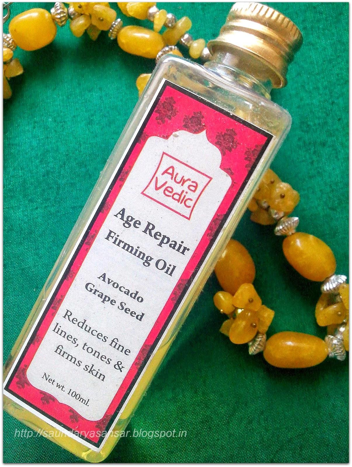Aura Vedic Age Repair Firming Oil-Review