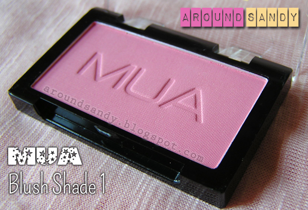 MUA blush shade 1 colorete dónde comprar swatches opinión review