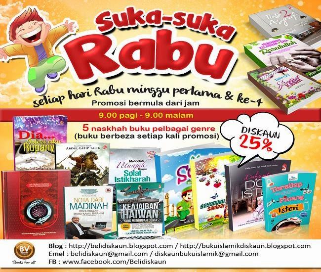 Promosi Suka-Suka Rabu