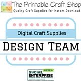 The Printable Craft Shop Design Team Member