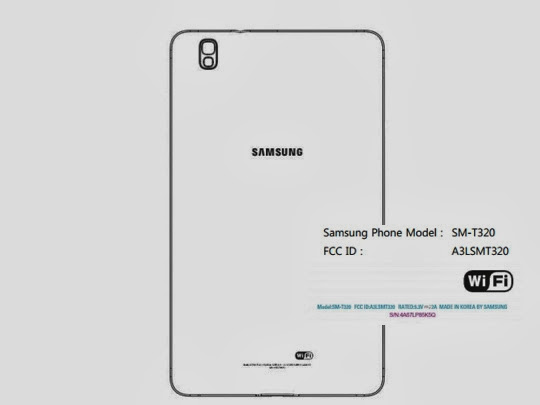 Samsung Galaxy Tab Pro 8.4 SM-T320 at FCC Exclusive