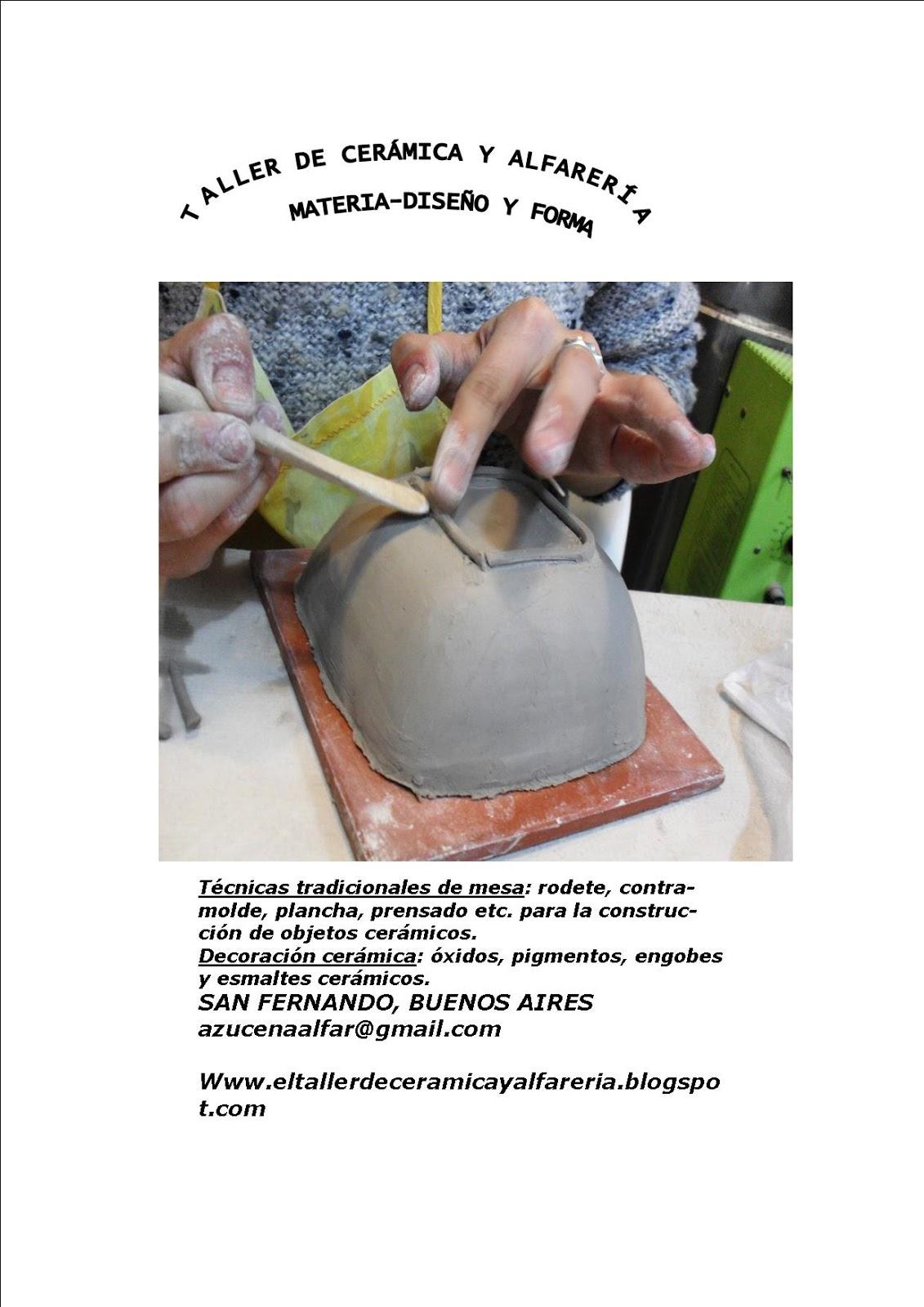 El taller de ceramica y alfareria 01 01 2016 02 01 2016 for Ceramica buenos aires