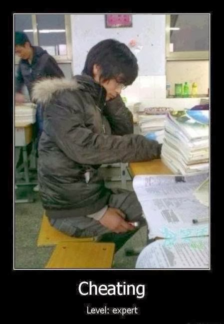 Cheating During Eam Funny Pic