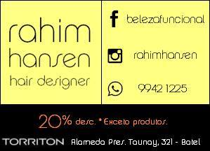 Rahim Hansen Hair Designer