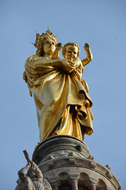 Basilica Notre-Dame de la Garde Marseille Our Lady