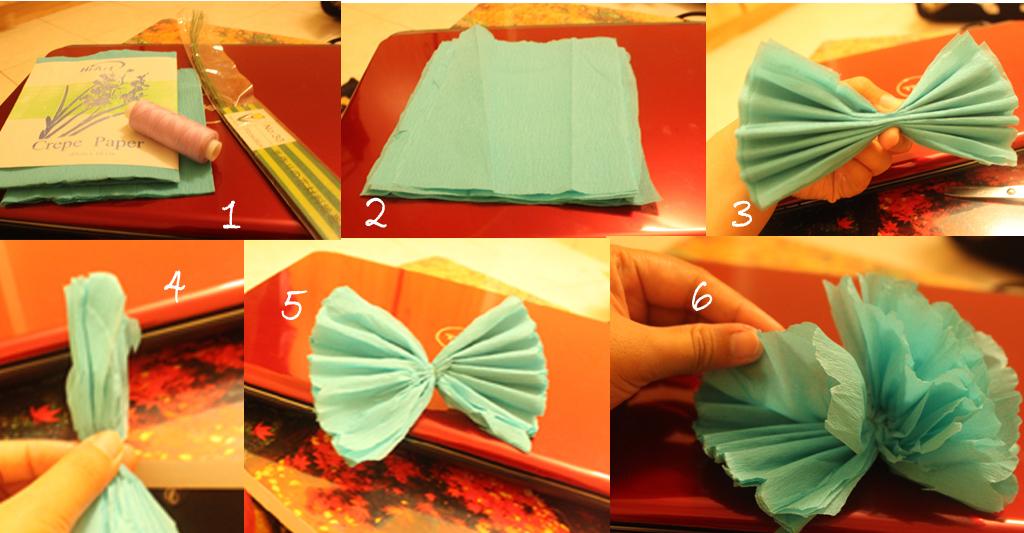 Bunga Crepe Paper