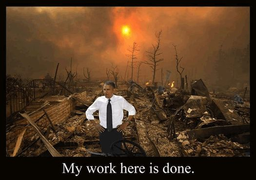 obama my job is done