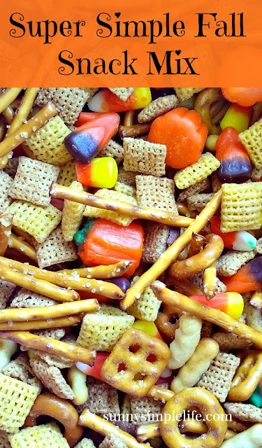 simple fall snack mix