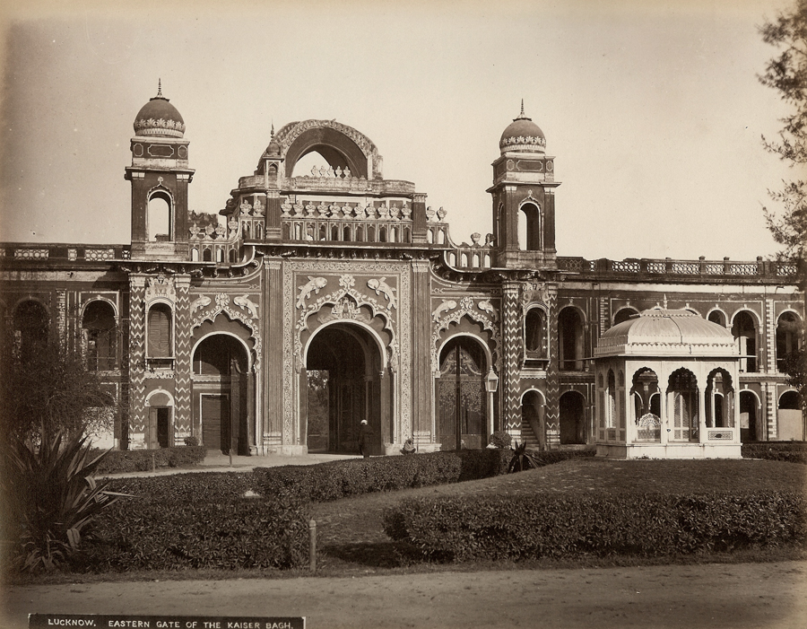 Eastern gate of qaisar bagh lucknow old indian photos for Architecture design for home in lucknow