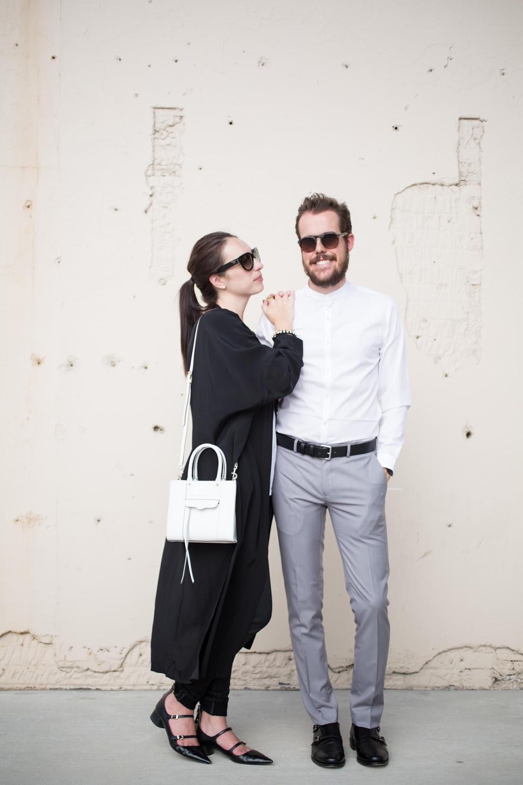 couples fashion style minimalist duster coat prada topman zara