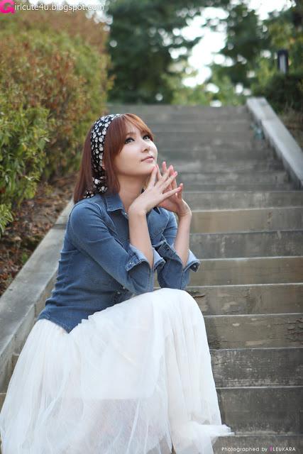 10 Jang Jung Eun - Outdoor-very cute asian girl-girlcute4u.blogspot.com