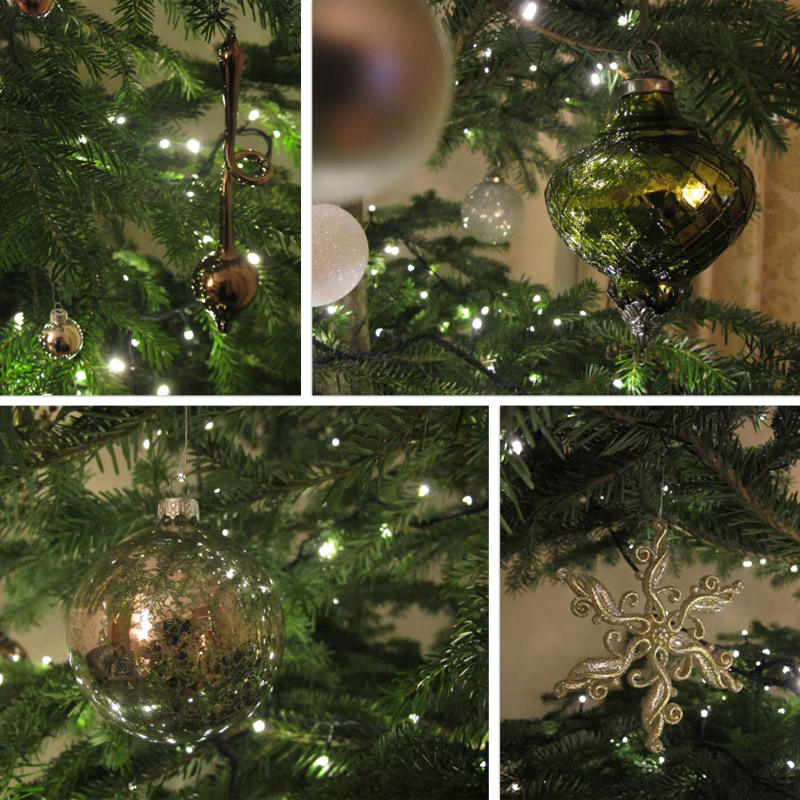 Olive Dragonfly: Christmas Decorations And A GIANT Tree
