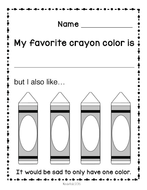 The Crayon Box that Talked Diversity Lesson for Pre K