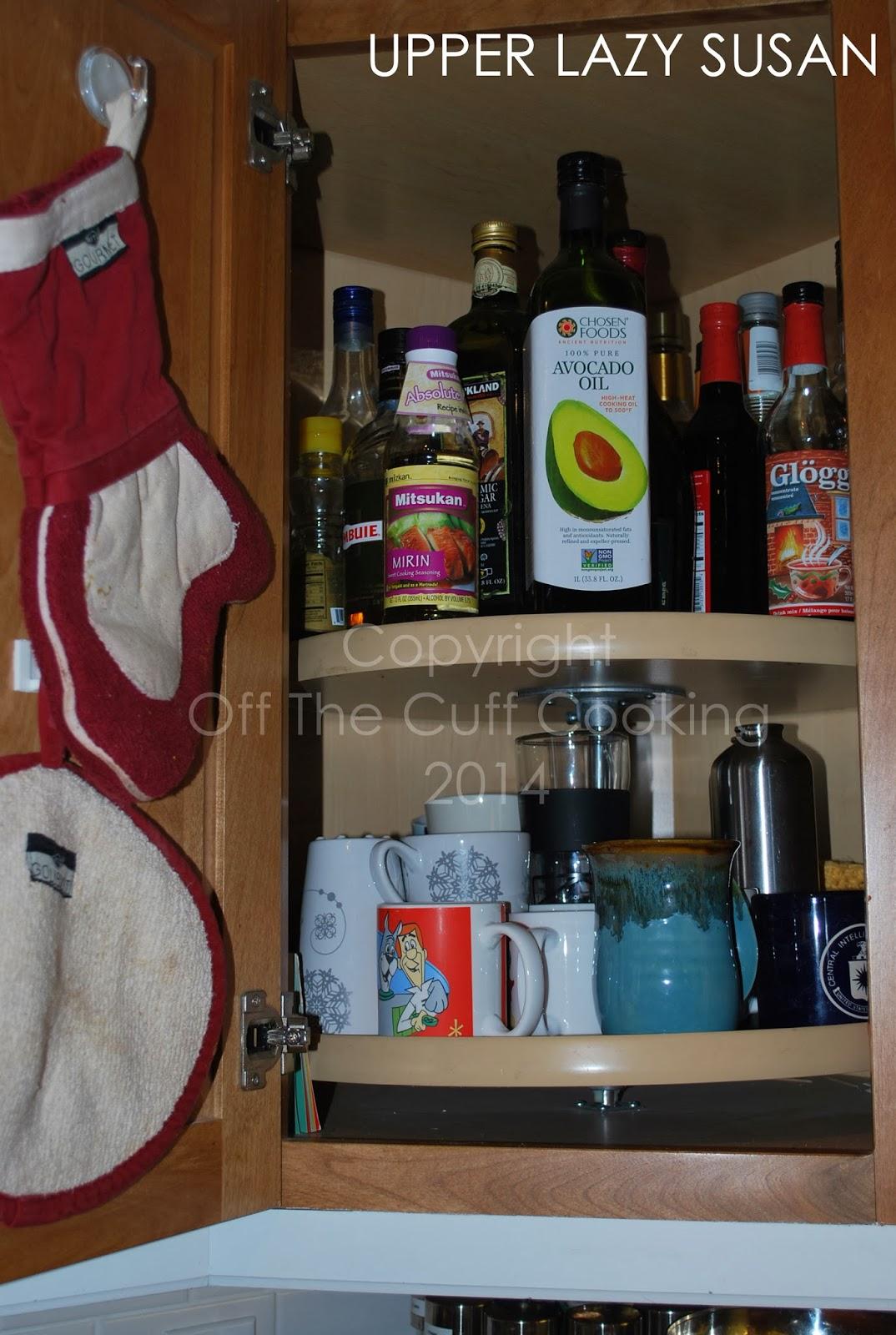 Kitchen Lazy Susan Cabinet