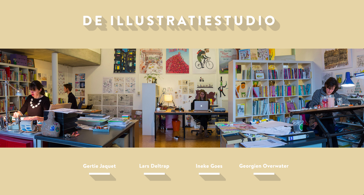 de illustratiestudio