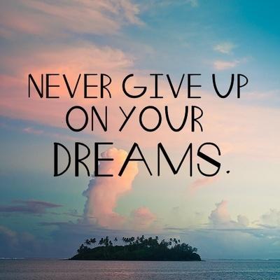 Quizás morirá el soñador, no mis ganas de soñar