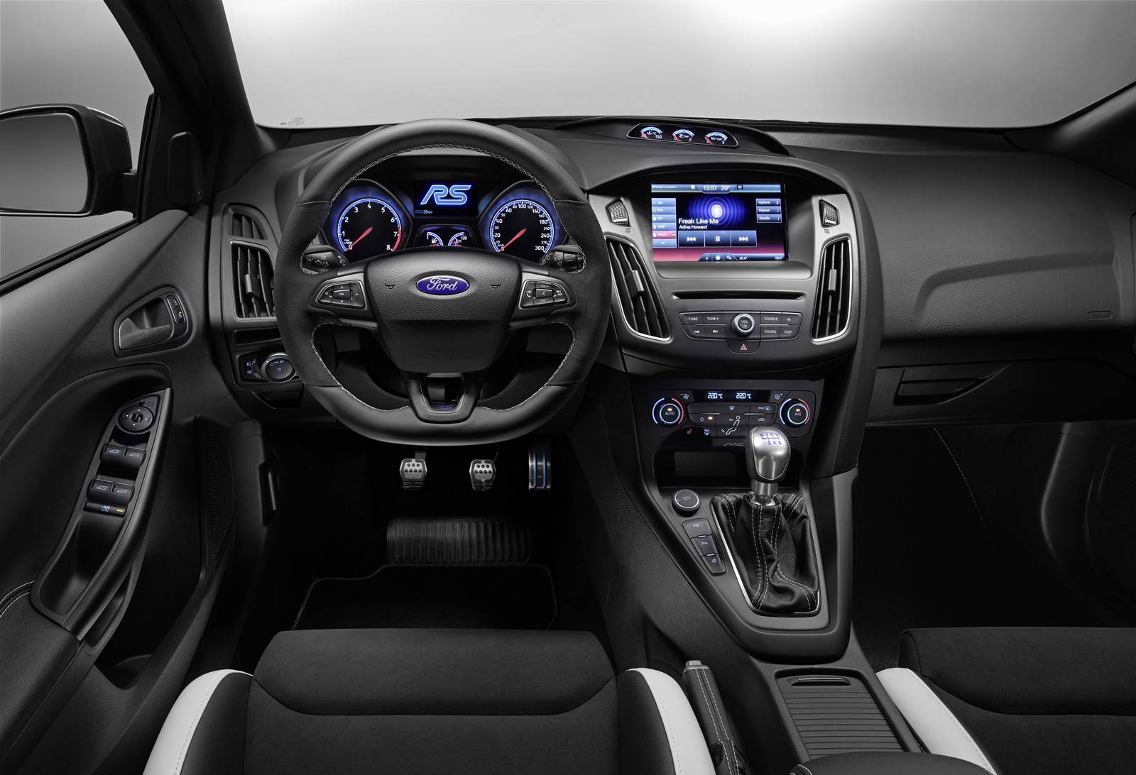 Novo Ford Focus RS 2015 - interior