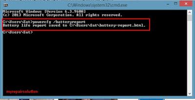 cara mengakses powercfg dengan command prompt