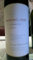 Osoyoos Larose Le Grand Vin 2010 - BC VQA Okanagan Valley, British Columbia, Canada (91 pts)
