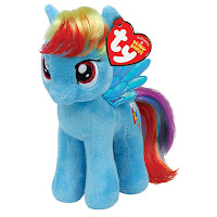 "Rainbow Dash 8"" Ty Plush"