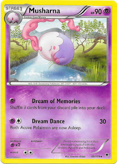 Musharna Phantom Forces Pokemon Card