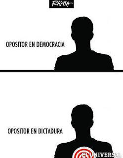Caricatura oposicion Venezuela
