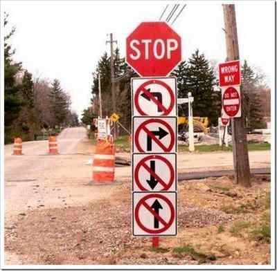 señales graciosas