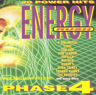 20 Power Hits Energy - Energy Rush Phase 4 (1993)