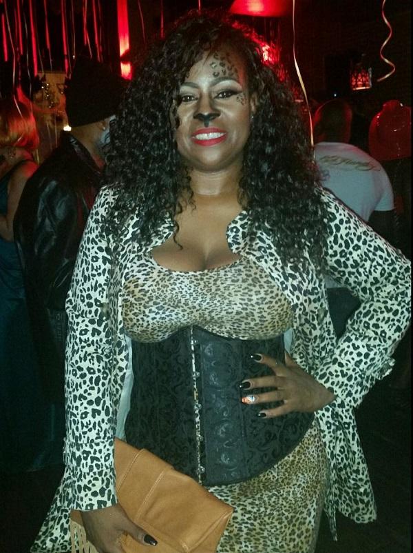 leopard costume, Halloween costume, Halloween makeup, leopard makeup