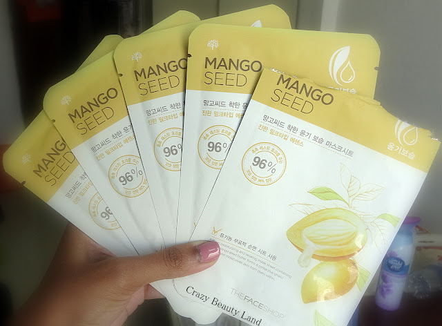 The Face Shop Mango Seed Moisturizing Sheet Mask Review