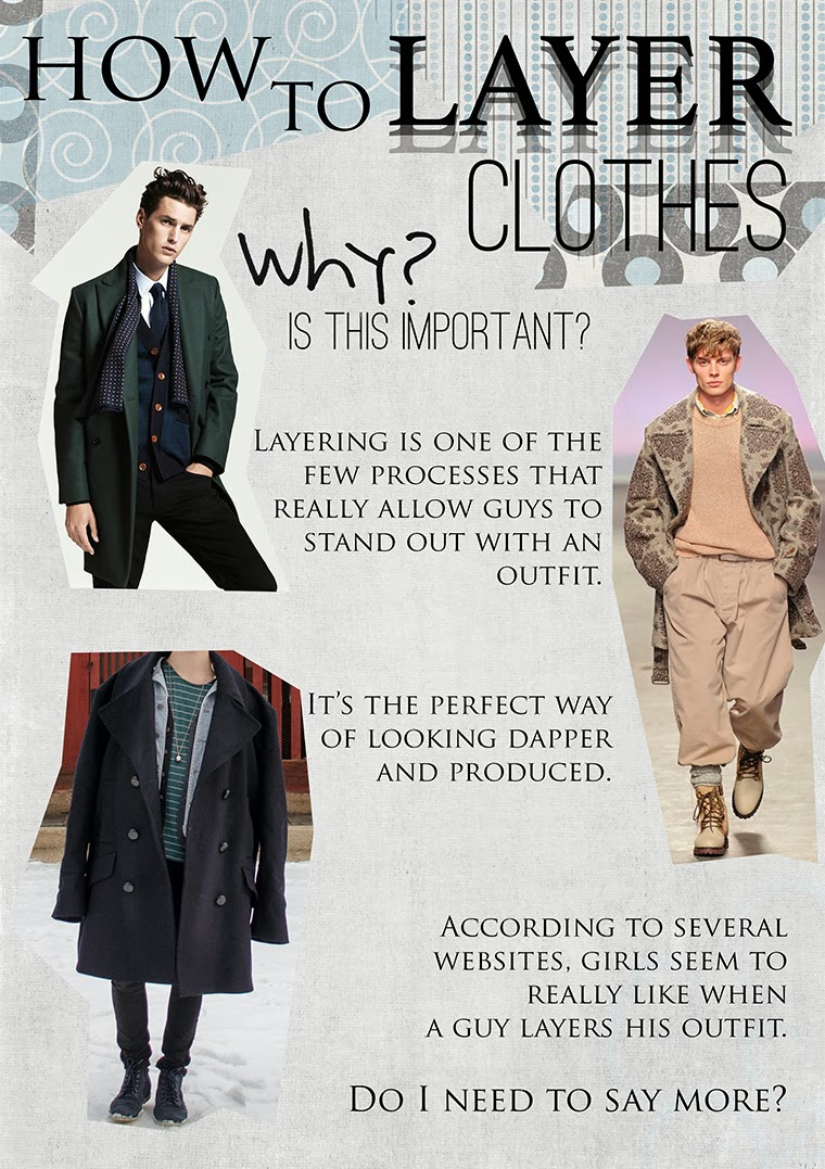 How to layer clothes for fashion 90