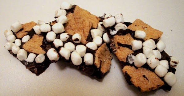 The Cereal Baker: S'mores Chocolate Bark
