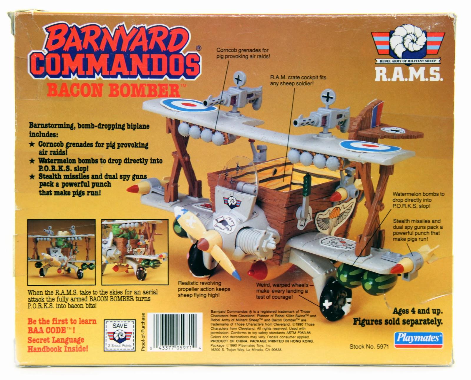 Barnyard movie toys