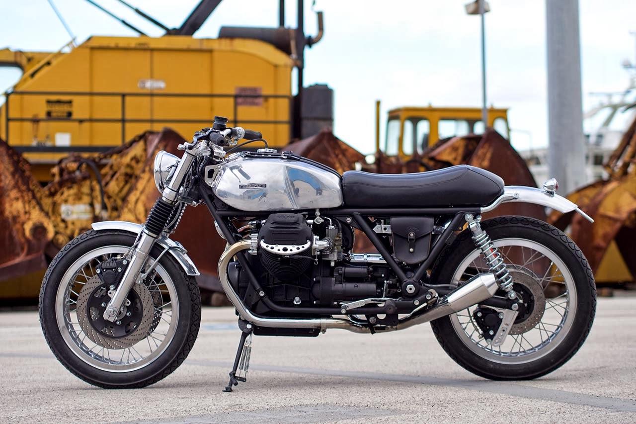 Racing Caf U00e8  Moto Guzzi Sp 1000  U0026quot Metallica U0026quot  By Officine