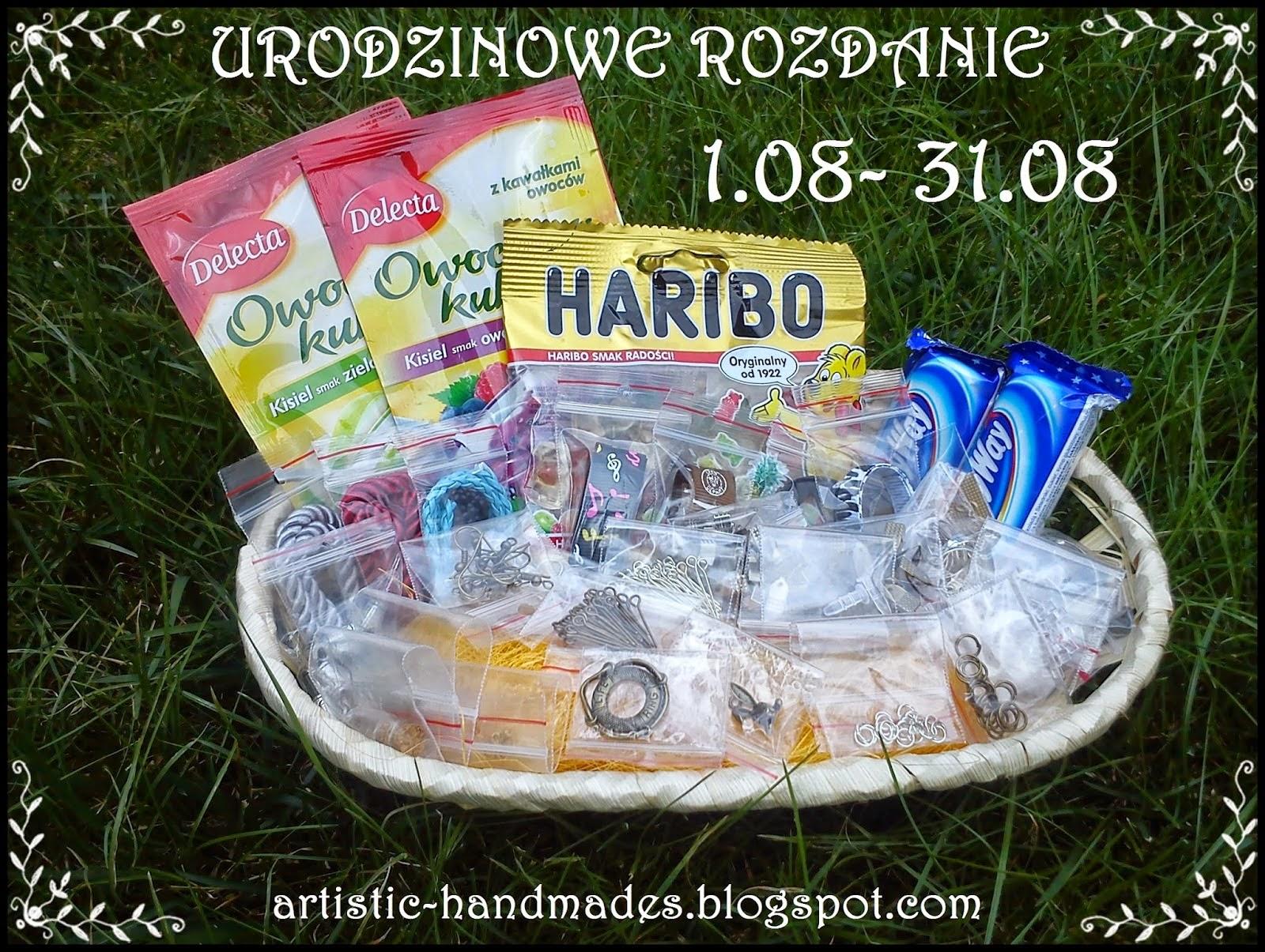 http://artistic-handmades.blogspot.com/2014/08/urodzinowe-rozdanie.html
