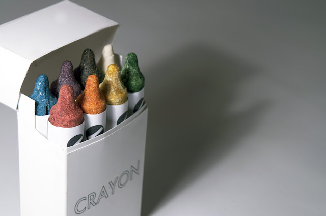 Edible, Healthy Crayons