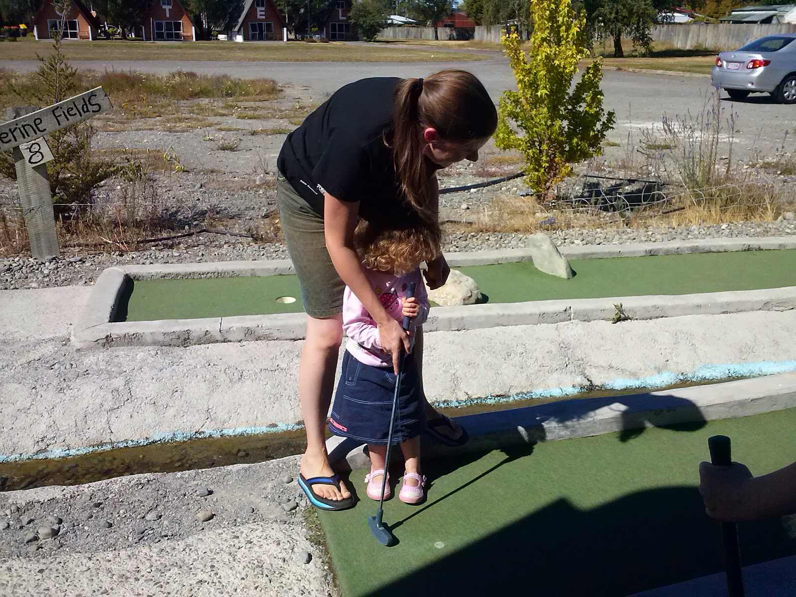 Learning to putt