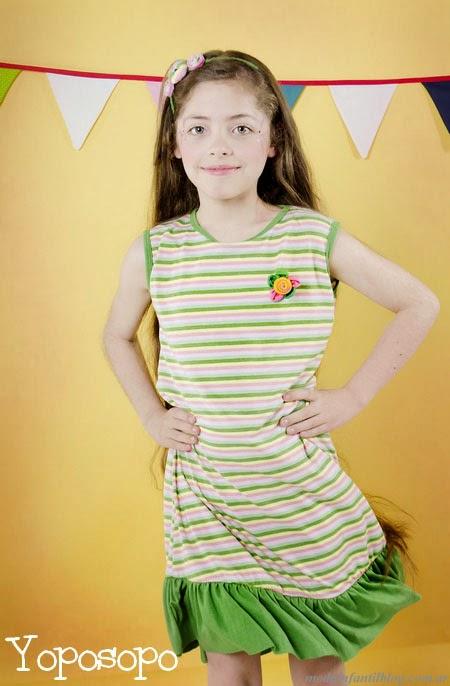 yoposopo vestidos infantiles verano 2014
