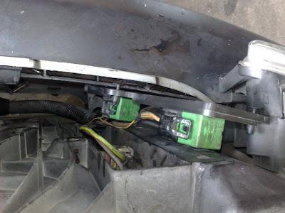 Peugeot 206 low speed fan resistor