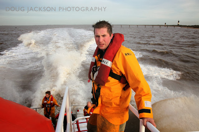 Spurn Point lifeboat crew