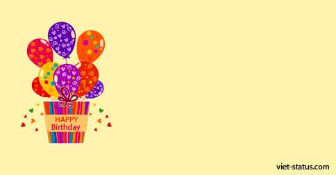 Status chúc mừng sinh nhật - mẫu 6