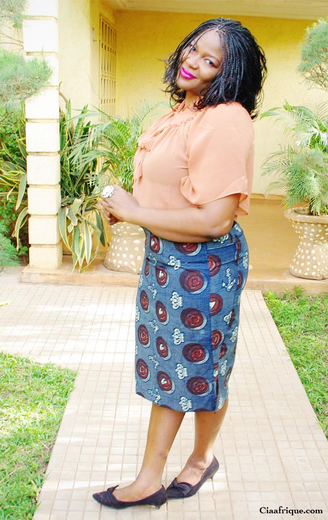 African fashion skirt