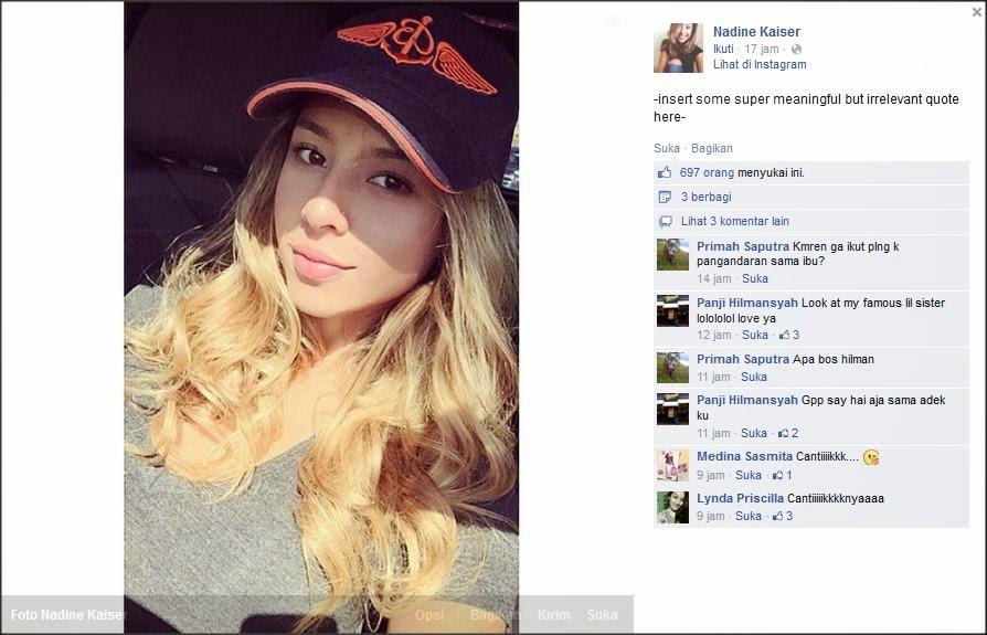 Facebook Nadine Kaiser