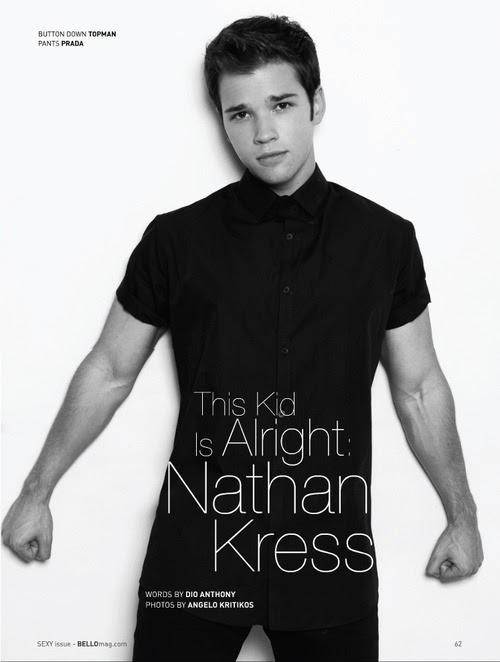 Nathan Kress Bello Mag