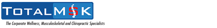 TotalMSK - The Corporate Wellness, Musculoskeletal and Chiropractic Specialists