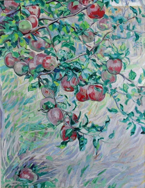 Hilda Rix Nicholas Apples